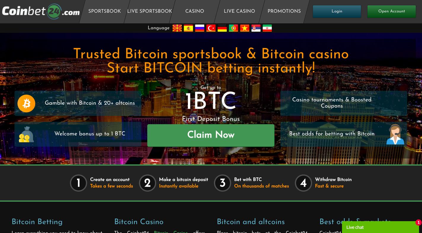 Always fruit bitcoin casino